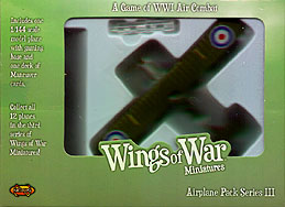 Spirit Games (Est. 1984) - Supplying role playing games (RPG), wargames rules, miniatures and scenery, new and traditional board and card games for the last 20 years sells Wings of War: RAF R.E. 8 (Ferguson and Fry) WWI Series III by