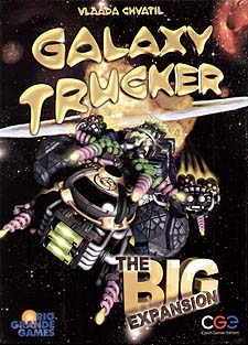 Spirit Games (Est. 1984) - Supplying role playing games (RPG), wargames rules, miniatures and scenery, new and traditional board and card games for the last 20 years sells Galaxy Trucker: The Big Expansion