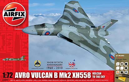 Spirit Games (Est. 1984) - Supplying role playing games (RPG), wargames rules, miniatures and scenery, new and traditional board and card games for the last 20 years sells kit: Avro Vulcan B Mk2 XH558