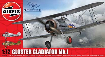 Spirit Games (Est. 1984) - Supplying role playing games (RPG), wargames rules, miniatures and scenery, new and traditional board and card games for the last 20 years sells Kit: Gloster Gladiator Mk I