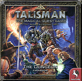 Spirit Games (Est. 1984) - Supplying role playing games (RPG), wargames rules, miniatures and scenery, new and traditional board and card games for the last 20 years sells Talisman Revised 4th Edition: The Dungeon Expansion