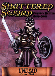 Spirit Games (Est. 1984) - Supplying role playing games (RPG), wargames rules, miniatures and scenery, new and traditional board and card games for the last 20 years sells Shattered Sword: Undead Army Deck
