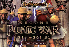 Spirit Games (Est. 1984) - Supplying role playing games (RPG), wargames rules, miniatures and scenery, new and traditional board and card games for the last 20 years sells Battleground Historical Warfare: Second Punic War 218-201 BC Reinforcements