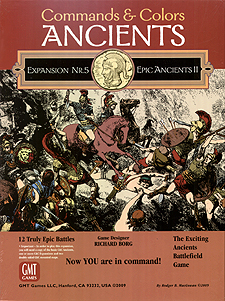 Spirit Games (Est. 1984) - Supplying role playing games (RPG), wargames rules, miniatures and scenery, new and traditional board and card games for the last 20 years sells Commands and Colors: Ancients Expansion 5 Epic Ancients II