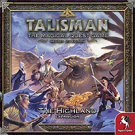 Spirit Games (Est. 1984) - Supplying role playing games (RPG), wargames rules, miniatures and scenery, new and traditional board and card games for the last 20 years sells Talisman Revised 4th Edition: The Highland Expansion