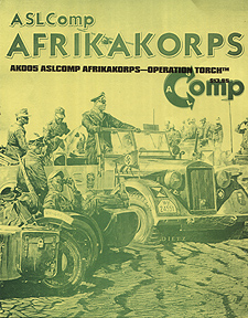 Spirit Games (Est. 1984) - Supplying role playing games (RPG), wargames rules, miniatures and scenery, new and traditional board and card games for the last 20 years sells ASLComp: Afrikakorps - Operation Torch (Ziplock)