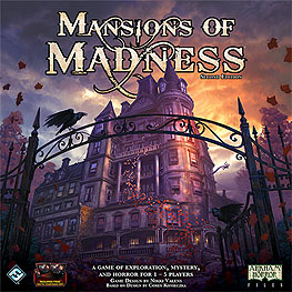 Spirit Games (Est. 1984) - Supplying role playing games (RPG), wargames rules, miniatures and scenery, new and traditional board and card games for the last 20 years sells Mansions of Madness 2nd Edition