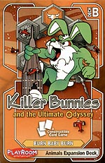 Spirit Games (Est. 1984) - Supplying role playing games (RPG), wargames rules, miniatures and scenery, new and traditional board and card games for the last 20 years sells Killer Bunnies and the Ultimate Odyssey: Animals Expansion Deck Orange