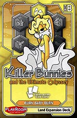 Spirit Games (Est. 1984) - Supplying role playing games (RPG), wargames rules, miniatures and scenery, new and traditional board and card games for the last 20 years sells Killer Bunnies and the Ultimate Odyssey: Land Expansion Deck Yellow