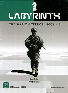 Spirit Games (Est. 1984) - Supplying role playing games (RPG), wargames rules, miniatures and scenery, new and traditional board and card games for the last 20 years sells Labyrinth: War on Terror, 2001 - ? Fourth Printing