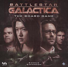 Spirit Games (Est. 1984) - Supplying role playing games (RPG), wargames rules, miniatures and scenery, new and traditional board and card games for the last 20 years sells Battlestar Galactica: The Board Game Exodus Expansion
