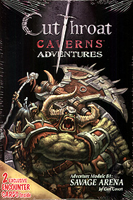 Spirit Games (Est. 1984) - Supplying role playing games (RPG), wargames rules, miniatures and scenery, new and traditional board and card games for the last 20 years sells Cutthroat Caverns Adventure Module B1/B2: Savage Arena/Errand of Evil