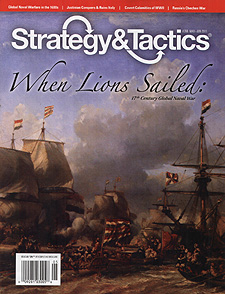 Spirit Games (Est. 1984) - Supplying role playing games (RPG), wargames rules, miniatures and scenery, new and traditional board and card games for the last 20 years sells Strategy and Tactics 268: When Lions Sailed - 17th Century Global Naval War