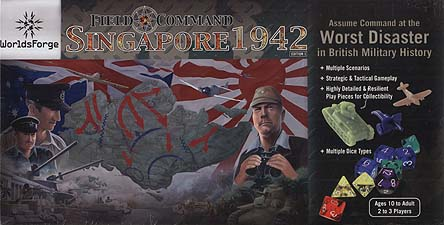Spirit Games (Est. 1984) - Supplying role playing games (RPG), wargames rules, miniatures and scenery, new and traditional board and card games for the last 20 years sells Field Command: Singapore 1942
