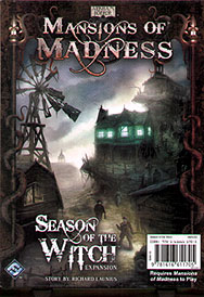 Spirit Games (Est. 1984) - Supplying role playing games (RPG), wargames rules, miniatures and scenery, new and traditional board and card games for the last 20 years sells Mansions of Madness: Season of the Witch Expansion