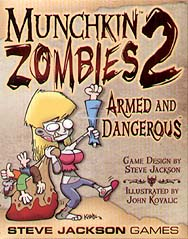 Spirit Games (Est. 1984) - Supplying role playing games (RPG), wargames rules, miniatures and scenery, new and traditional board and card games for the last 20 years sells Munchkin Zombies 2 Armed and Dangerous