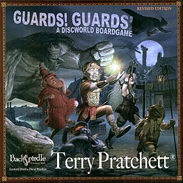 Spirit Games (Est. 1984) - Supplying role playing games (RPG), wargames rules, miniatures and scenery, new and traditional board and card games for the last 20 years sells Guards! Guards! A Discworld Boardgame Revised Edition