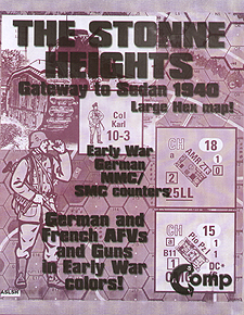 Spirit Games (Est. 1984) - Supplying role playing games (RPG), wargames rules, miniatures and scenery, new and traditional board and card games for the last 20 years sells ASL: The Stonne Heights - Gateway to Sedan 1940 (Ziplock)