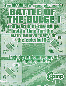 Spirit Games (Est. 1984) - Supplying role playing games (RPG), wargames rules, miniatures and scenery, new and traditional board and card games for the last 20 years sells ASL: Battle of the Bulge I (Ziplock)