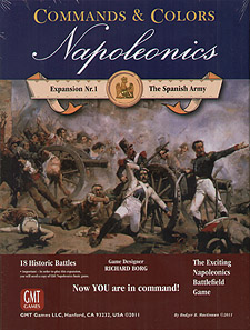 Spirit Games (Est. 1984) - Supplying role playing games (RPG), wargames rules, miniatures and scenery, new and traditional board and card games for the last 20 years sells Commands and Colors: Napoleonics Expansion #1 The Spanish Army