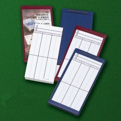 Spirit Games (Est. 1984) - Supplying role playing games (RPG), wargames rules, miniatures and scenery, new and traditional board and card games for the last 20 years sells Playing Cards: Bridge Score Cards and Holders