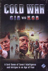 Spirit Games (Est. 1984) - Supplying role playing games (RPG), wargames rules, miniatures and scenery, new and traditional board and card games for the last 20 years sells Cold War: CIA vs KGB 3rd Edition