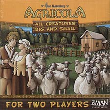 Spirit Games (Est. 1984) - Supplying role playing games (RPG), wargames rules, miniatures and scenery, new and traditional board and card games for the last 20 years sells Agricola: All Creatures Big and Small by