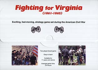 Spirit Games (Est. 1984) - Supplying role playing games (RPG), wargames rules, miniatures and scenery, new and traditional board and card games for the last 20 years sells Fighting for Virginia (1861-1865)