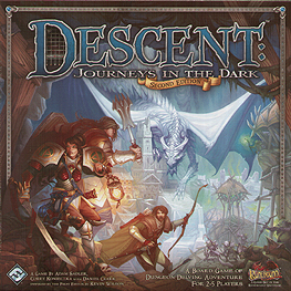 Spirit Games (Est. 1984) - Supplying role playing games (RPG), wargames rules, miniatures and scenery, new and traditional board and card games for the last 20 years sells Descent: Journeys in the Dark Second Edition