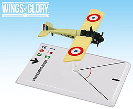 Spirit Games (Est. 1984) - Supplying role playing games (RPG), wargames rules, miniatures and scenery, new and traditional board and card games for the last 20 years sells Wings of Glory WWI: Morane-Saulnier Type N (Gilbert)
