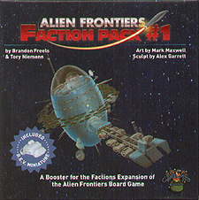 Spirit Games (Est. 1984) - Supplying role playing games (RPG), wargames rules, miniatures and scenery, new and traditional board and card games for the last 20 years sells Alien Frontiers: Faction Pack #1