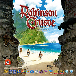 Spirit Games (Est. 1984) - Supplying role playing games (RPG), wargames rules, miniatures and scenery, new and traditional board and card games for the last 20 years sells Robinson Crusoe: Adventures on the Cursed Island