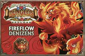 Spirit Games (Est. 1984) - Supplying role playing games (RPG), wargames rules, miniatures and scenery, new and traditional board and card games for the last 20 years sells Super Dungeon Explore: Fireflow Denizens