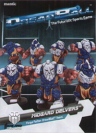 Spirit Games (Est. 1984) - Supplying role playing games (RPG), wargames rules, miniatures and scenery, new and traditional board and card games for the last 20 years sells DreadBall: Midgard Delvers - Forge Fathers Team