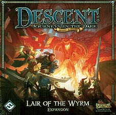 Spirit Games (Est. 1984) - Supplying role playing games (RPG), wargames rules, miniatures and scenery, new and traditional board and card games for the last 20 years sells Descent: Journeys in the Dark Second Edition  - Lair of the Wyrm Expansion