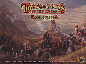 Spirit Games (Est. 1984) - Supplying role playing games (RPG), wargames rules, miniatures and scenery, new and traditional board and card games for the last 20 years sells Defenders of the Realm: Battlefields