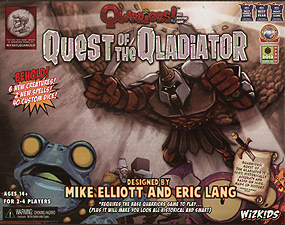 Spirit Games (Est. 1984) - Supplying role playing games (RPG), wargames rules, miniatures and scenery, new and traditional board and card games for the last 20 years sells Quarriors: Quest of the Qladiator (includes free promo card)
