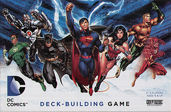Spirit Games (Est. 1984) - Supplying role playing games (RPG), wargames rules, miniatures and scenery, new and traditional board and card games for the last 20 years sells DC Comics Deck-Building Game