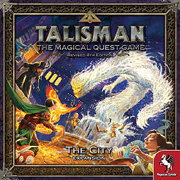 Spirit Games (Est. 1984) - Supplying role playing games (RPG), wargames rules, miniatures and scenery, new and traditional board and card games for the last 20 years sells Talisman Revised 4th Edition: The City Expansion