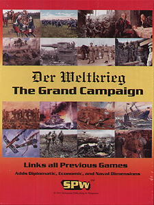 Spirit Games (Est. 1984) - Supplying role playing games (RPG), wargames rules, miniatures and scenery, new and traditional board and card games for the last 20 years sells Der Weltkrieg: The Grand Campaign