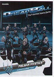 Spirit Games (Est. 1984) - Supplying role playing games (RPG), wargames rules, miniatures and scenery, new and traditional board and card games for the last 20 years sells DreadBall: Pelgar Mystics - Judwan Team