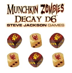Spirit Games (Est. 1984) - Supplying role playing games (RPG), wargames rules, miniatures and scenery, new and traditional board and card games for the last 20 years sells Munchkin Zombies Decay D6