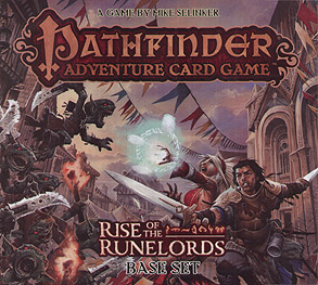 Spirit Games (Est. 1984) - Supplying role playing games (RPG), wargames rules, miniatures and scenery, new and traditional board and card games for the last 20 years sells Pathfinder Adventure Card Game: Rise of the Runelords Base Set