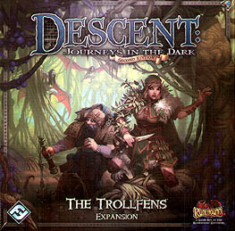 Spirit Games (Est. 1984) - Supplying role playing games (RPG), wargames rules, miniatures and scenery, new and traditional board and card games for the last 20 years sells Descent: Journeys in the Dark Second Edition  - The Trollfens Expansion