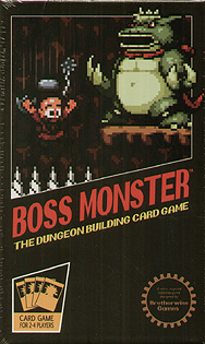 Spirit Games (Est. 1984) - Supplying role playing games (RPG), wargames rules, miniatures and scenery, new and traditional board and card games for the last 20 years sells Boss Monster: The Dungeon Building Card Game
