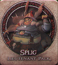 Spirit Games (Est. 1984) - Supplying role playing games (RPG), wargames rules, miniatures and scenery, new and traditional board and card games for the last 20 years sells Descent: Journeys in the Dark Second Edition - Splig Lieutenant Pack