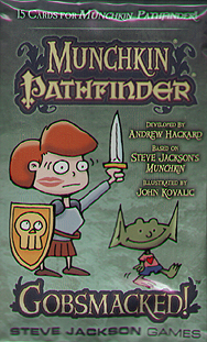 Spirit Games (Est. 1984) - Supplying role playing games (RPG), wargames rules, miniatures and scenery, new and traditional board and card games for the last 20 years sells Munchkin Pathfinder: Gobsmacked