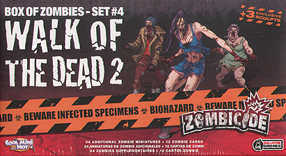 Spirit Games (Est. 1984) - Supplying role playing games (RPG), wargames rules, miniatures and scenery, new and traditional board and card games for the last 20 years sells Zombicide: Walk of the Dead 2