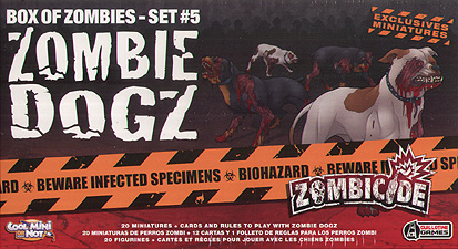 Spirit Games (Est. 1984) - Supplying role playing games (RPG), wargames rules, miniatures and scenery, new and traditional board and card games for the last 20 years sells Zombicide: Zombie Dogz