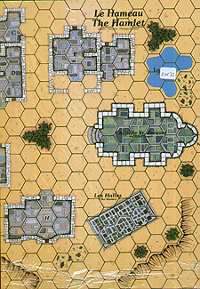 Spirit Games (Est. 1984) - Supplying role playing games (RPG), wargames rules, miniatures and scenery, new and traditional board and card games for the last 20 years sells Guiscard Map The Hamlet